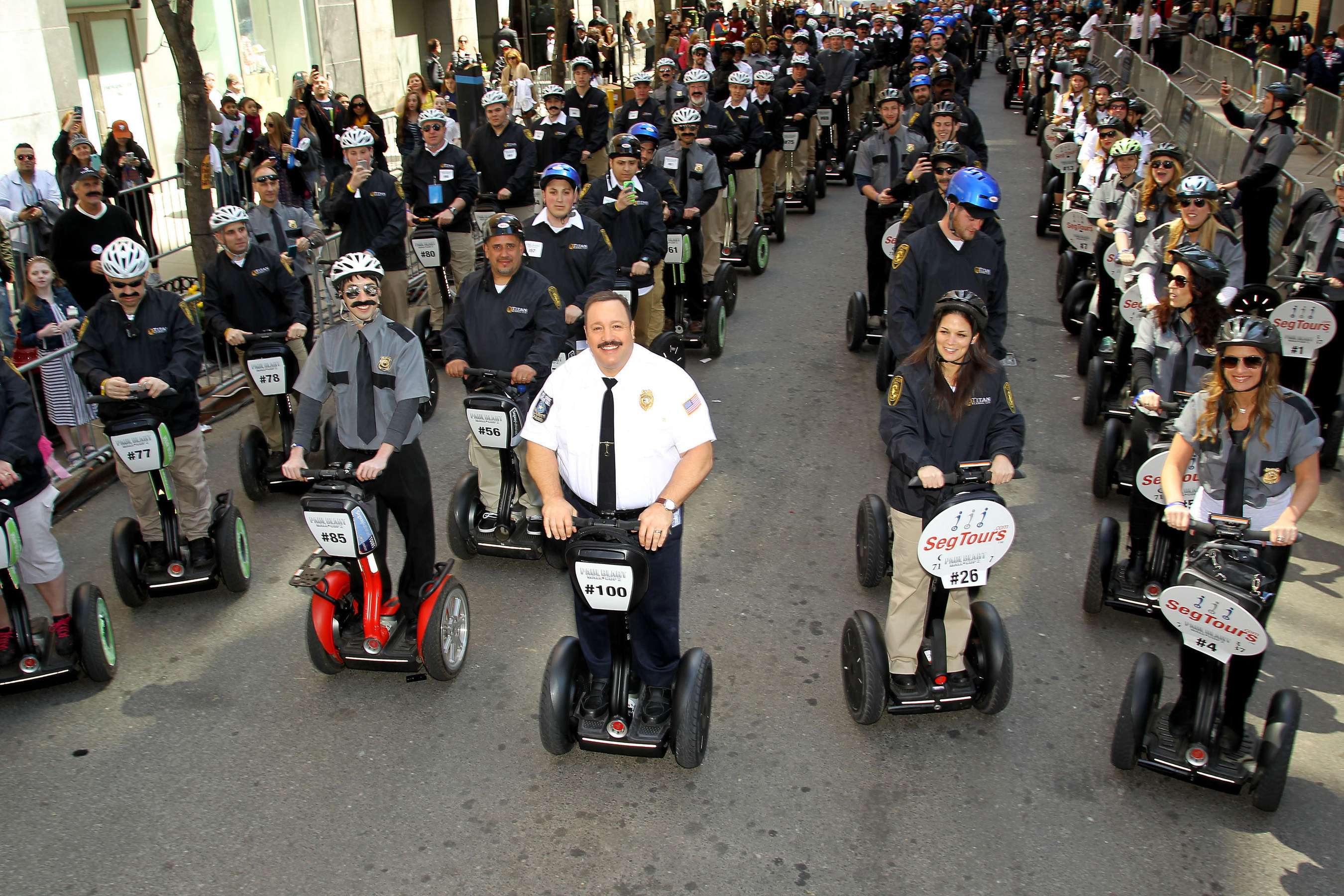 'Paul Blart: Mall Cop 2' And New York's Finest Security Guards Claim Two GUINNESS WORLD RECORDS'' Titles On National Security Guard Day