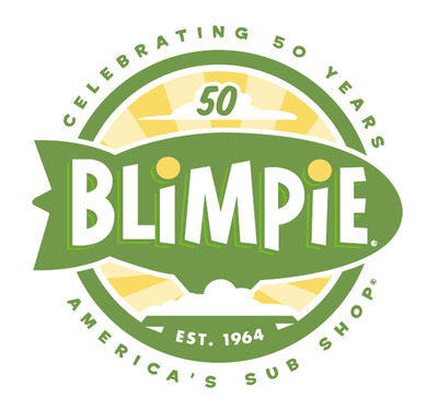 Blimpie Celebrates 50 Years! (PRNewsFoto/Blimpie) (PRNewsFoto/BLIMPIE)