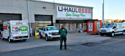 One of the oldest neighborhoods on Staten Island is polishing its look with the new U-Haul Moving & Storage of Port Richmond store at 7 North St.