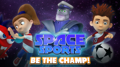 Space Sports - Be the Champ.  Today's players, tomorrow's champions.  (PRNewsFoto/Planet Toccer Holdings Ltd.)