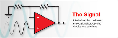 The Signal is a technical blog from Texas Instruments on topics related to analog signal processing circuits and solutions. Check it out at www.ti.com/thesignal.  (PRNewsFoto/Texas Instruments)