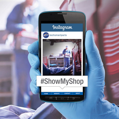 """The TechSmart """"Show Us Your Shop"""" Contest engages technicians and do-it-yourselfers to Instagram their shop for a chance to win $100."""