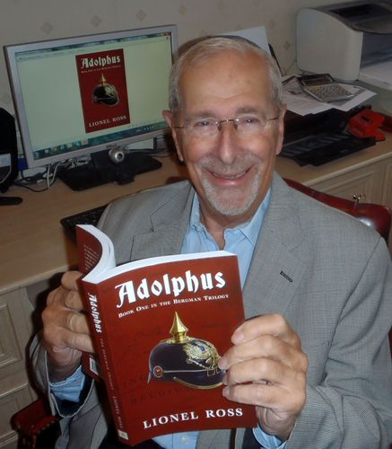 Lionel Ross's seventh story, Adolphus, Book One of the Bergman Trilogy. (PRNewsFoto/i2i Publishing)