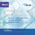 MO BIO Laboratories, Inc. launches the PowerMag DNA Clean-Up Kit, a new automated method to remove PCR inhibitors from previously purified DNA.
