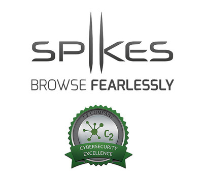 C2 Company Awards Spikes Browser The Seal Of Cybersecurity Excellence.  (PRNewsFoto/Spikes Inc.)