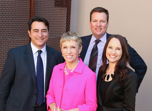 Concierge Auctions, a luxury real estate auction firm serving high-net-worth individuals worldwide, today announced that Barbara Corcoran has joined the organization as a Strategic Advisor. (PRNewsFoto/Concierge Auctions)