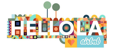 Airbnb Hello LA logo.  (PRNewsFoto/Airbnb)