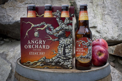 Angry Orchard Launches New Stone Dry Hard Cider Nationwide