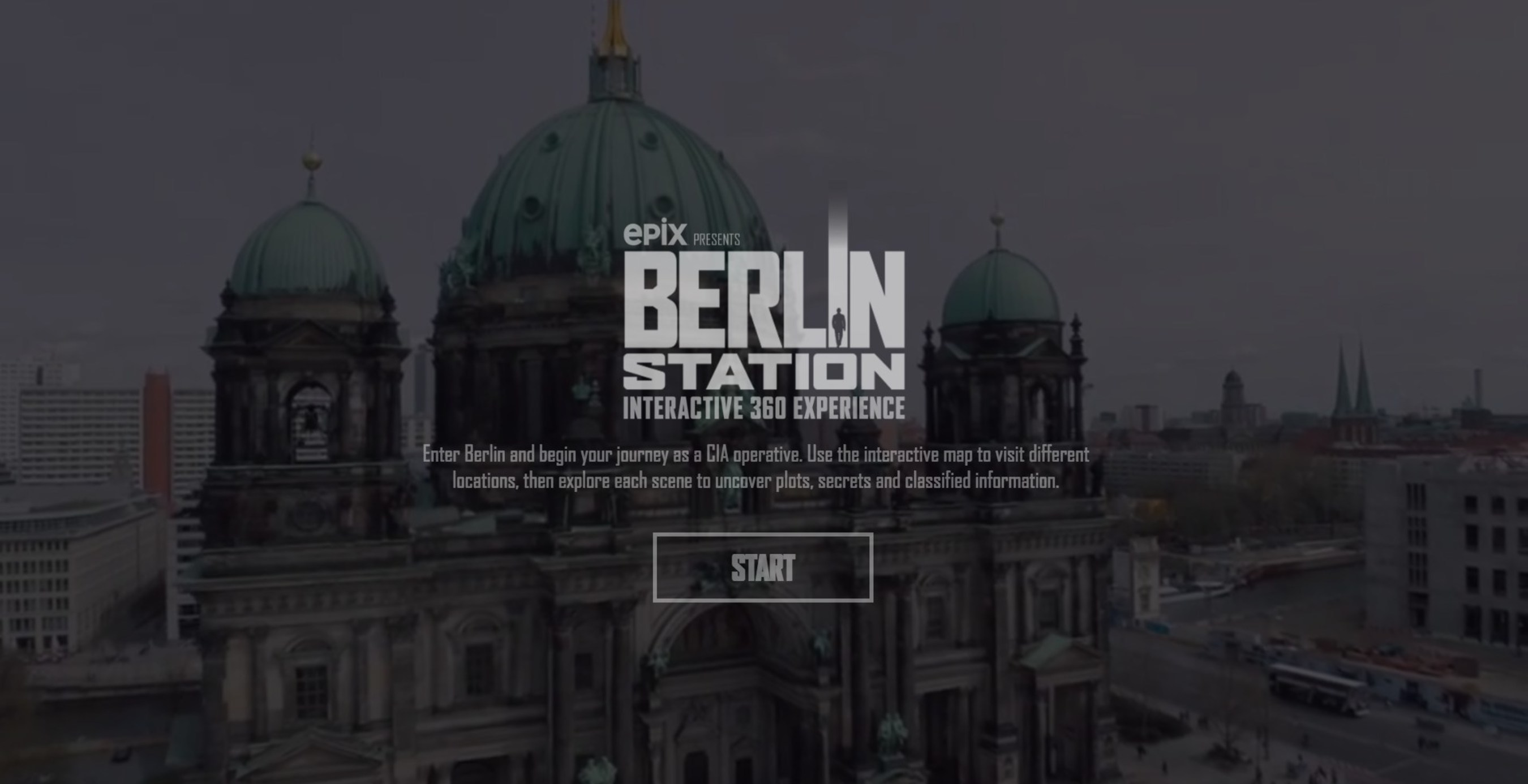 Ayzenberg Teams Up With WIREWAX to Deliver the First-Ever 360-Degree, Interactive Video Experience for EPIX's New Original Series, 'Berlin Station'