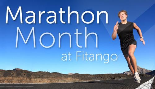 It's Marathon Month at Fitango.  (PRNewsFoto/Fitango)