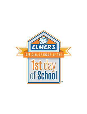 As the Official Sponsor of the 1st Day of School, Elmer's(R) Products, Inc. provides resources to parents and teachers for that exciting first day.  (PRNewsFoto/Elmer's(R) Products, Inc.)