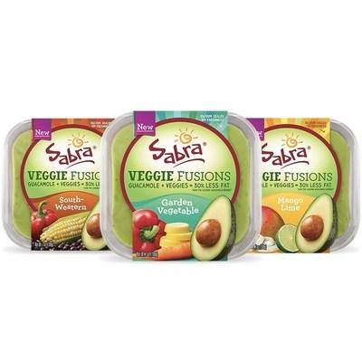 Sabra Launches Guacamole Veggie Fusions