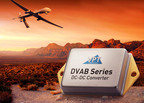 VPT's new DVAB Series dual output DC-DC converter offers 15W of output power with zero cross regulation error.  (PRNewsFoto/VPT Inc.)