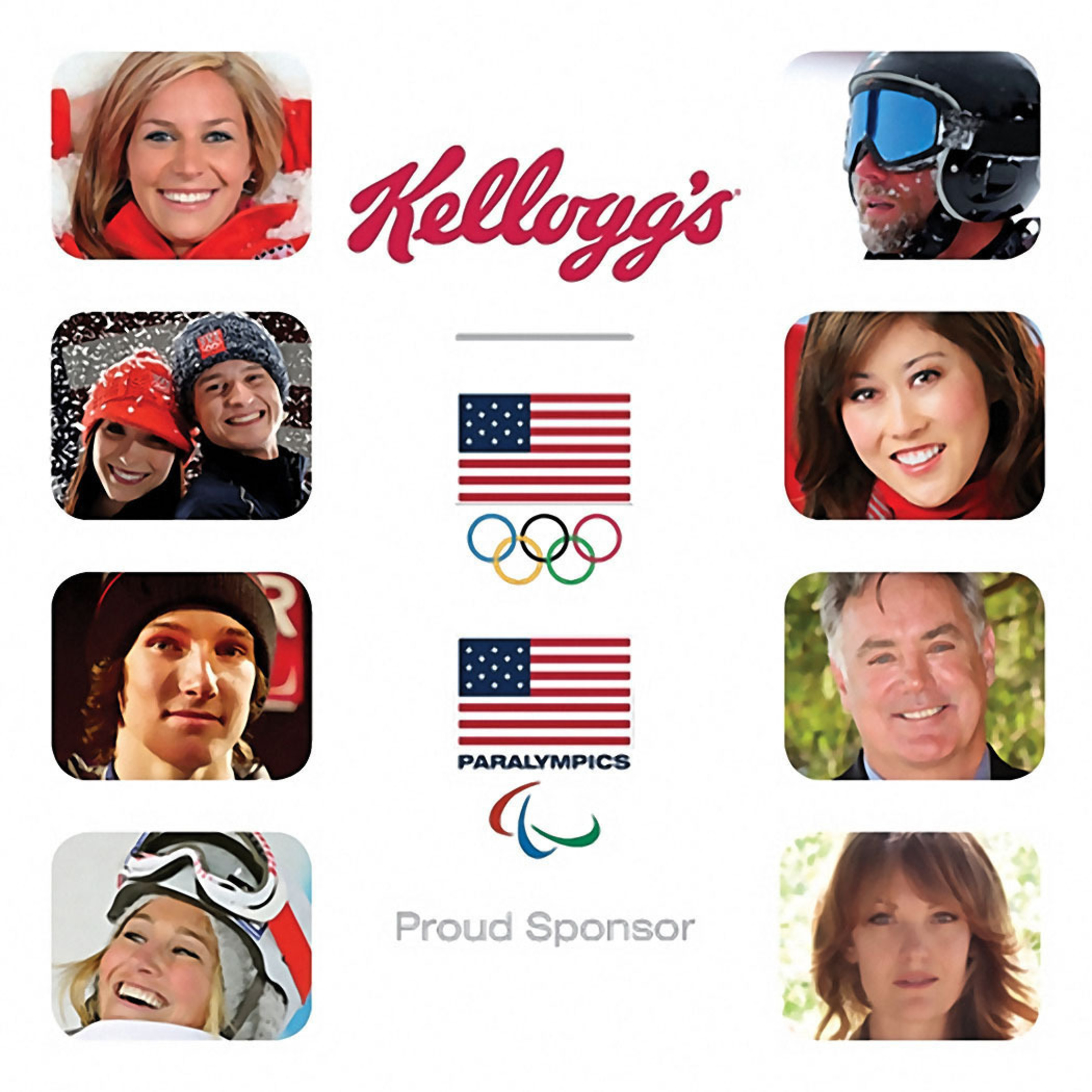 Team Kellogg's Athletes.  (PRNewsFoto/Kellogg Company)