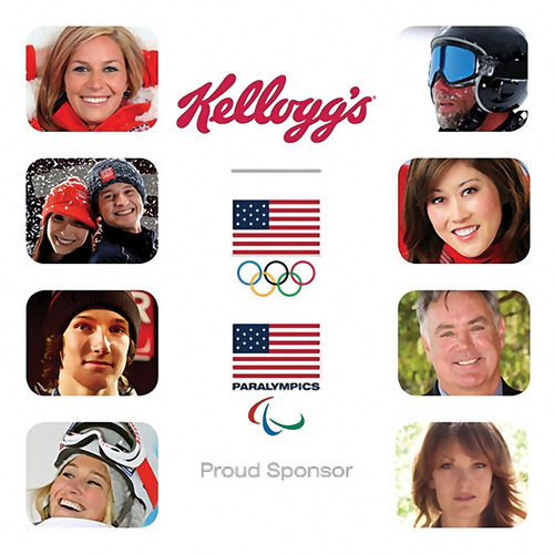 Team Kellogg's Athletes. (PRNewsFoto/Kellogg Company) (PRNewsFoto/KELLOGG COMPANY)
