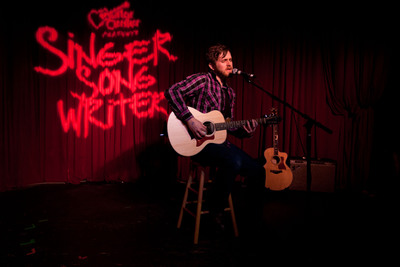 Josh Doyle, Winner of Guitar Center's Singer Songwriter Competition.  (PRNewsFoto/Guitar Center)