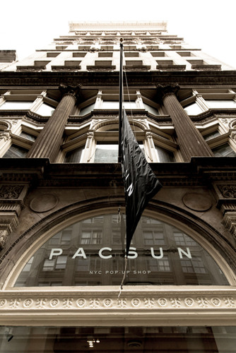 PacSun brings the latest trends inspired by the California lifestyle to New York, unveiling a summer pop-up shop in SoHo on Friday, May 24.  (PRNewsFoto/Pacific Sunwear of California, Inc.)
