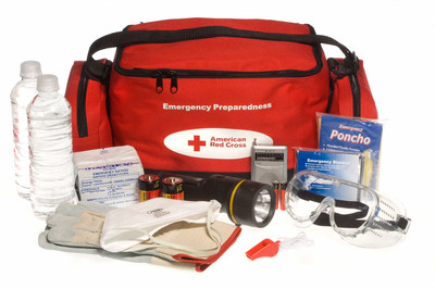 Prepare for any Emergency with a first aid kit from the Red Cross.