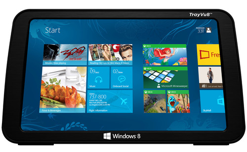 The Windows tablet with the Skycast IFE solution will meet the increasing demand from airlines to get more ...