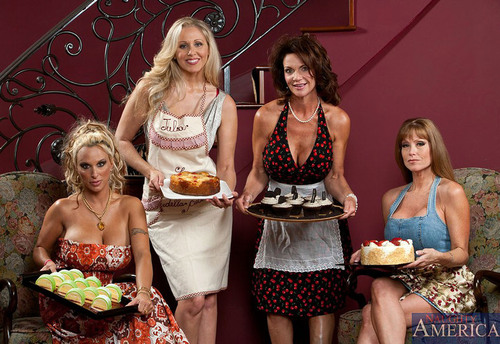 My Friend's Hot Mom Bake-Off: MILF Week Finale.  (PRNewsFoto/Naughty America)