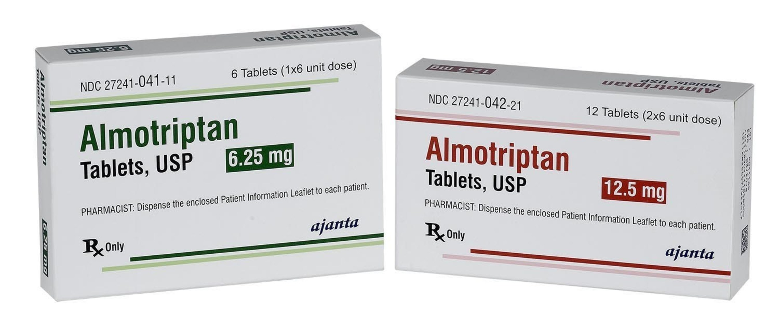 Ajanta Pharma Announces the Launch of Almotriptan Malate Tablets