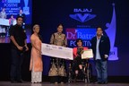 Dr. Akshay Batra, Sonakshi Sinha, Paralympics Silver Medalist Deepa Malik and Dr. Mukesh Batra at Dr Batra's Positive Health Awards (PRNewsFoto/Dr. Batra's Positive Health)