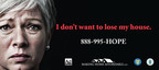 Struggling with your mortgage? Call 888-995-HOPE for free advice.  (PRNewsFoto/The Ad Council)