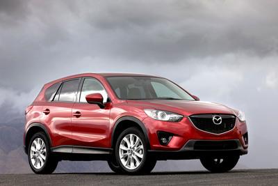All-New 2013 Mazda CX-5 Makes Its North American Debut in Los Angeles.  (PRNewsFoto/Mazda North American Operations)