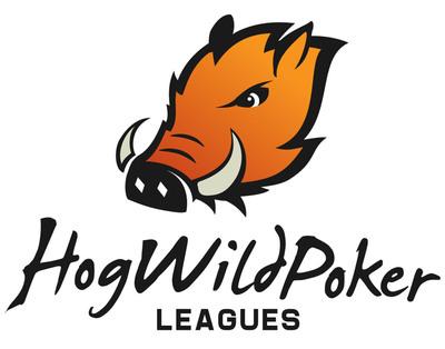 HogWildPokerLeagues.com logo.  (PRNewsFoto/HogWildPokerLeagues.com)