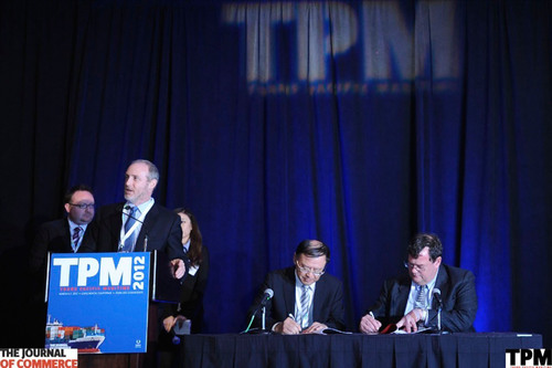 The Journal of Commerce TPM Asia conference will be hosted by China's Shenzhen Port through 2016, ...