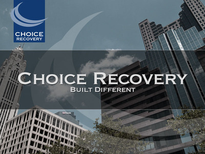 """Choice Recovery establishes a new name, new visual identity and new value proposition, """"Built Different"""".  (PRNewsFoto/Choice Recovery)"""
