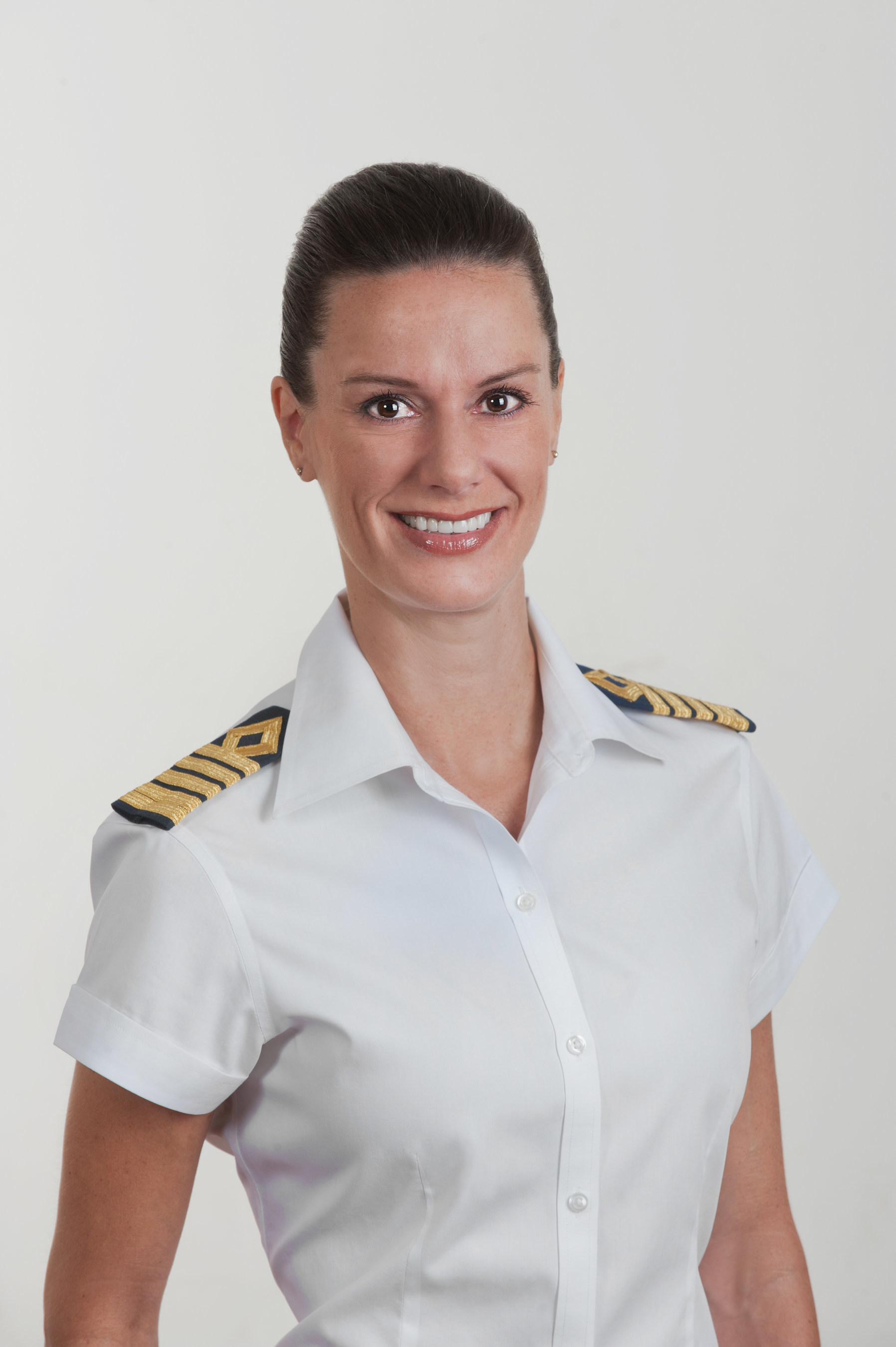 Celebrity Cruises named Kate McCue as the cruise industry's first American female captain