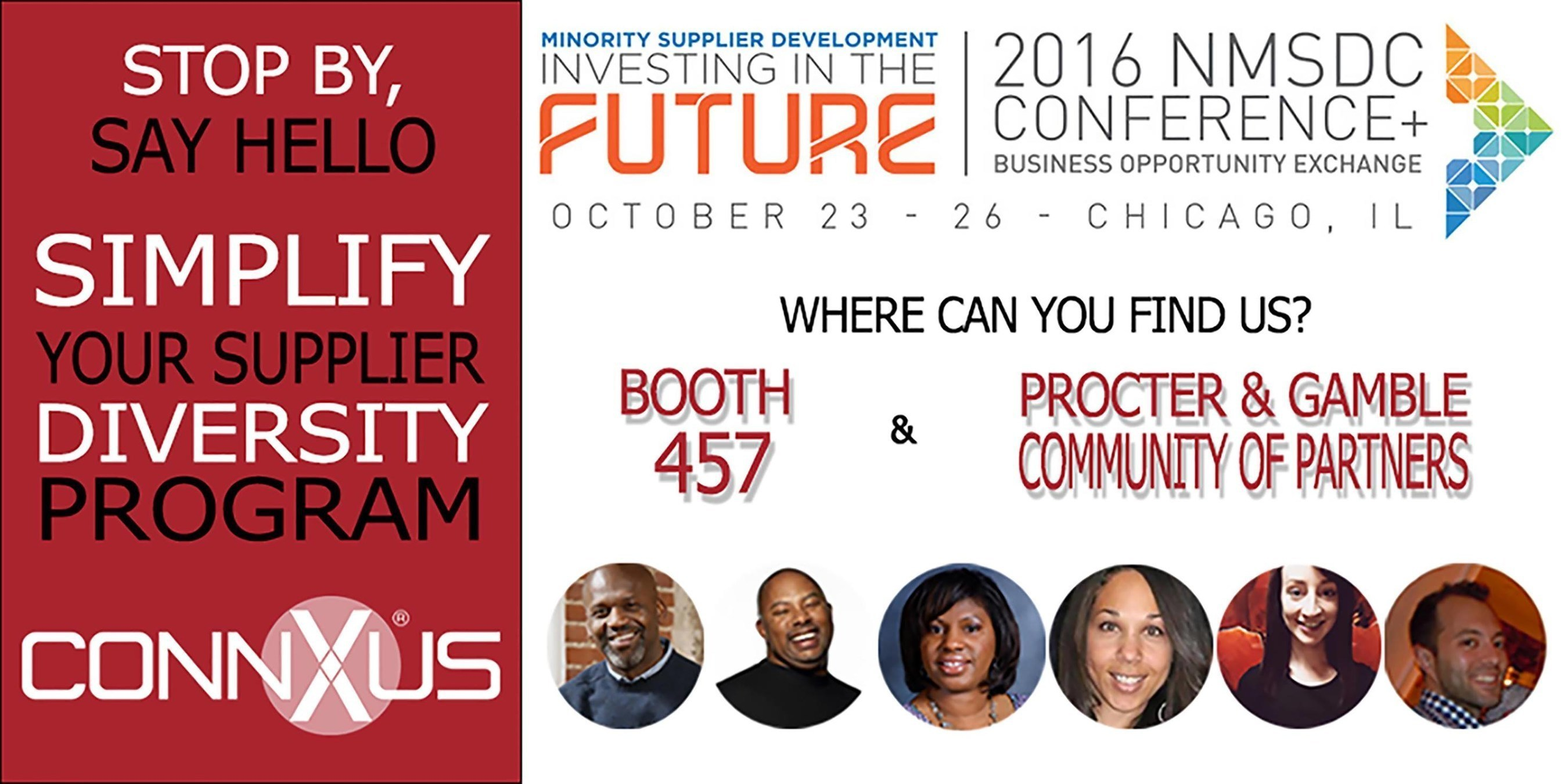 ConnXus Partners with P&G for National Minority Supplier Development Council Conference in Chicago