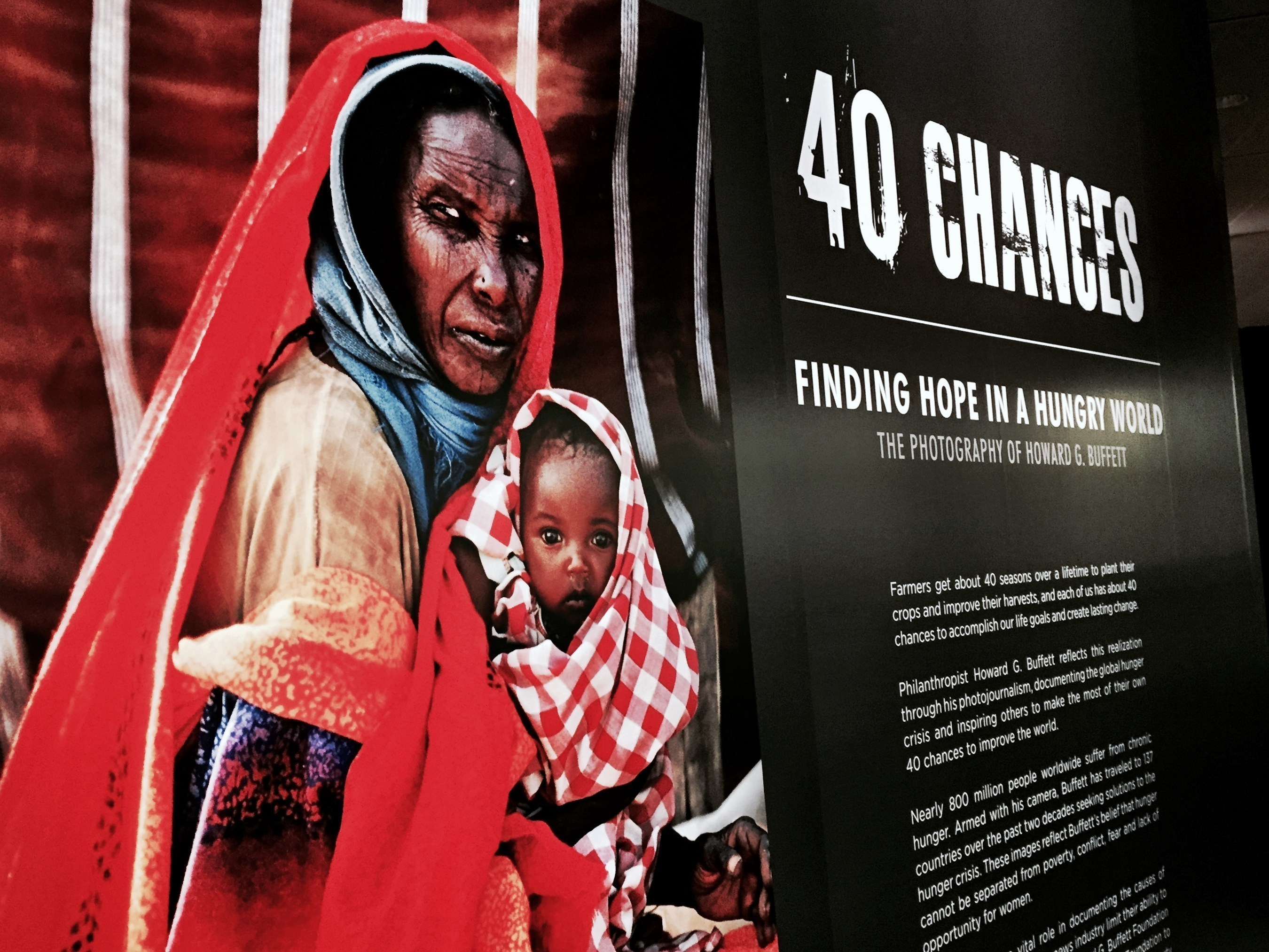 '40 Chances: Finding Hope in a Hungry World -- The Photography of Howard G. Buffett' Opens at the Newseum Today