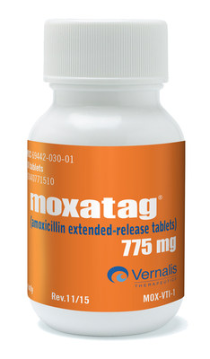 Moxatag (amoxicillin extended-release) tablets
