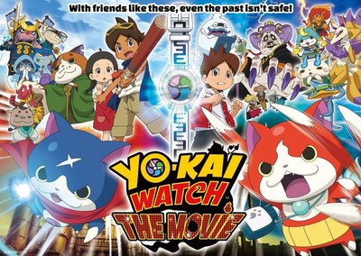 YO-KAI WATCH: THE MOVIE EVENT Takes Place in North American Movie Theaters on October 15 Only