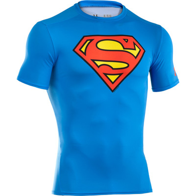 "Under Armour Alter Ego ""Superman"" baselayer T."