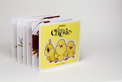 Canticos nursery rhyme books use an innovative reversible design