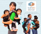 TwinGo Carrier-the most versatile baby carrier for parents of two-is the first ergonomic twin carrier for one adult to carry two babies and it can split into two single-child carriers for two adults to carry one child each in the front or back positions (patent pending). The carrier works great for twins or children born close in age (i.e. baby and toddler). For more information, please visit http://twingocarrier.com/