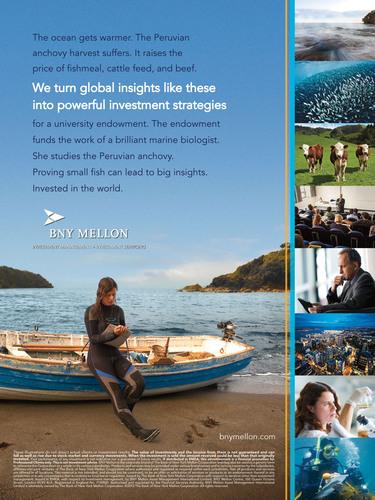 BNY Mellon Print Ad 2. (PRNewsFoto/BNY Mellon) (PRNewsFoto/BNY MELLON)