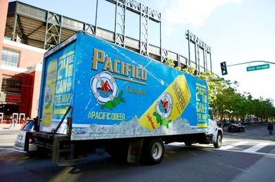 TSN promotes Pacifico in downtown San Francisco at AT&T Park as part of the client's new product launch.