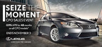 The Certified Pre-Owned Sales Event at Lexus of Naperville will be held until November 3, 2015. (PRNewsFoto/Lexus of Naperville)
