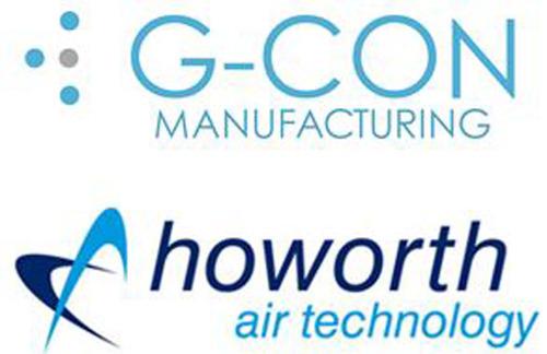 G-con and Howorth.  (PRNewsFoto/G-CON Manufacturing)