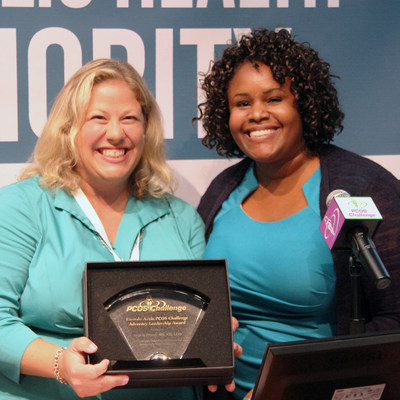 Angela Grassi, RD Receives 2015 Ricardo Azziz PCOS Challenge Advocacy Leadership Award