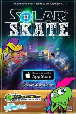 Solar Skate Poster