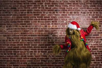 Ponce City Market's Grinch