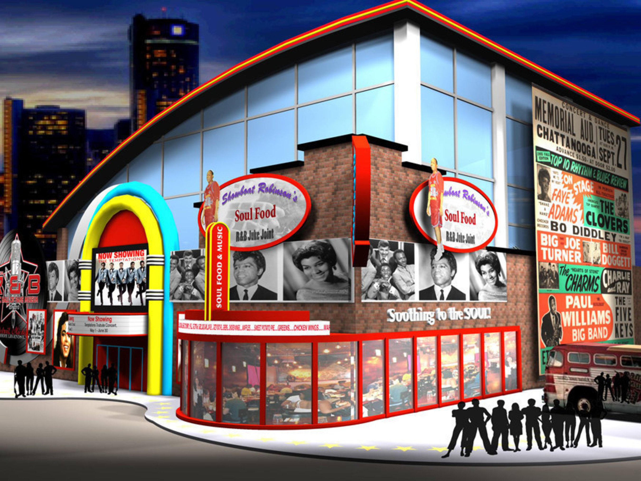 Rhythm & Blues Hall of Fame is Looking for a City for R&B Music Legends