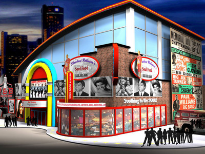 The Official Rhythm & Blues Hall of Fame building