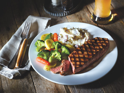 Applebee's sirloin steak will be part of the menu offered free to veterans and active-duty military on Veterans Day at all Applebee's restaurants.