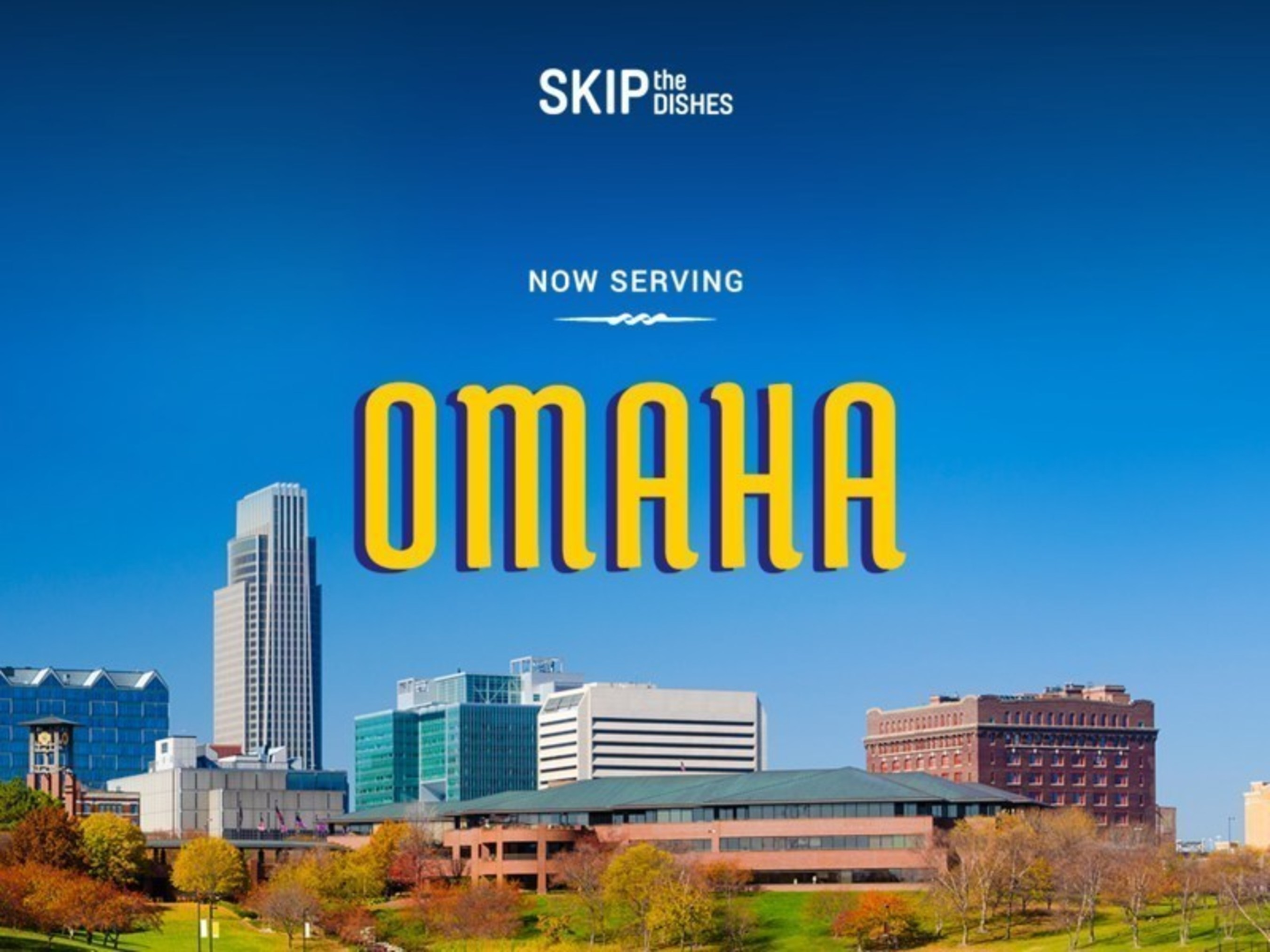 SkipTheDishes Launches Omaha's Largest Food Delivery Network